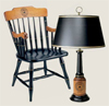 gardner chair and lamp